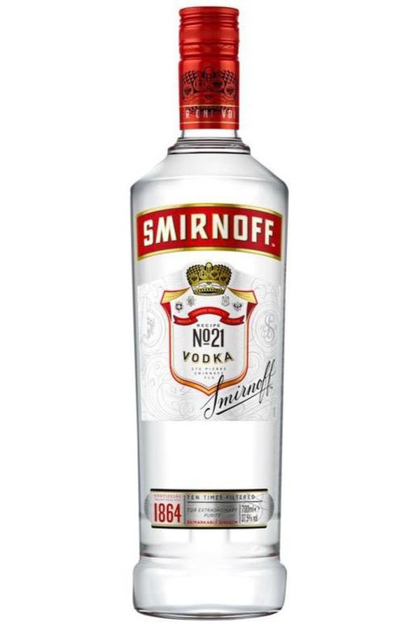 Smirnoff Vodka 1 Litre - Cheers Wine Merchants