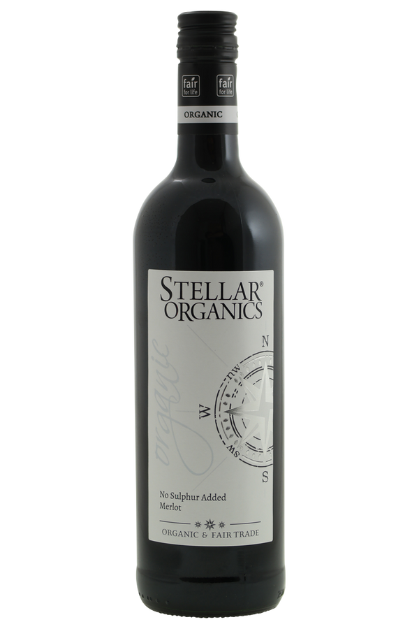 Stellar Organics Merlot - Cheers Wine Merchants