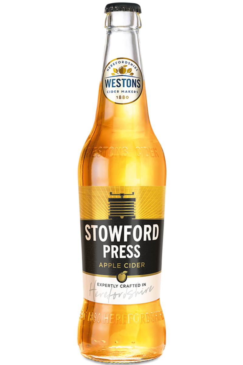 Westons Stowford Press Cider - Cheers Wine Merchants