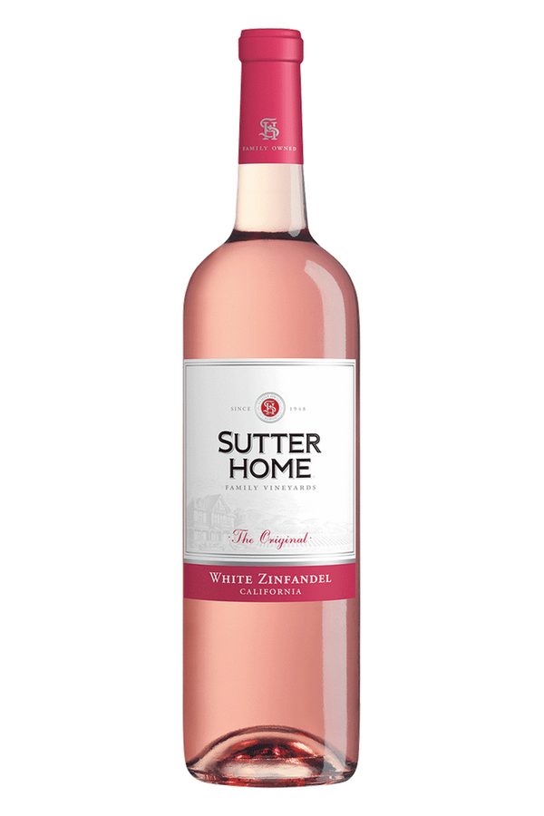 Sutter Home White Zinfandel Rose - Cheers Wine Merchants