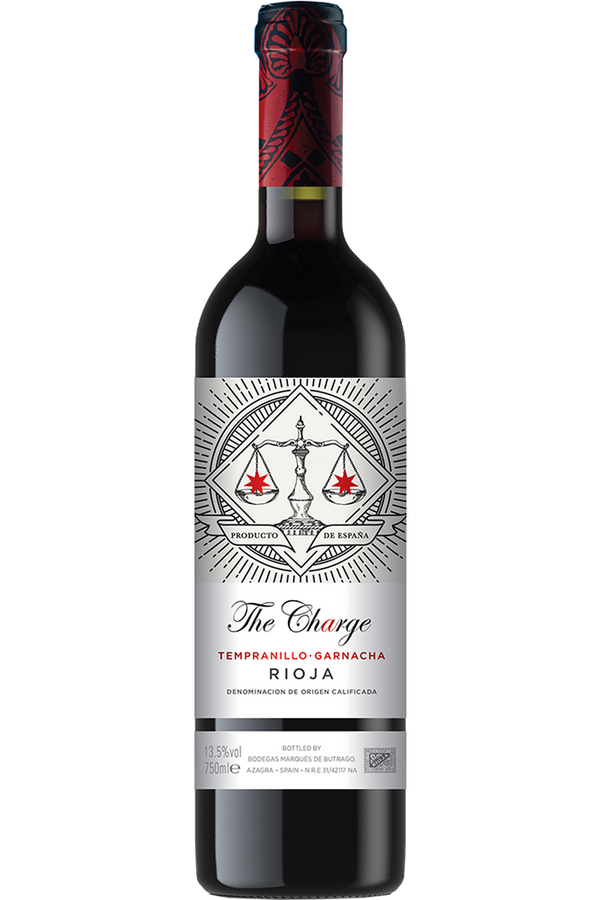 The Charge Rioja Tempranillo Garnacha - Cheers Wine Merchants