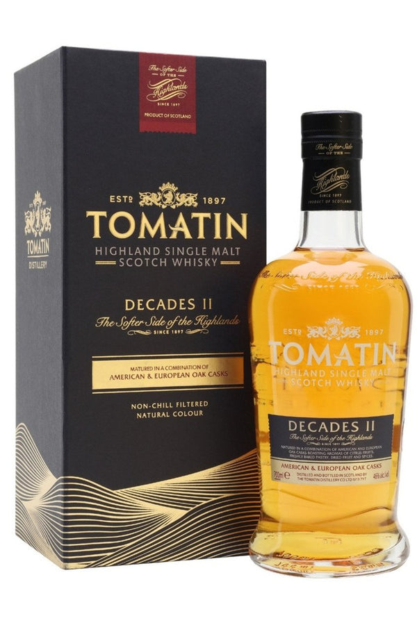 Tomatin Decades II - Cheers Wine Merchants