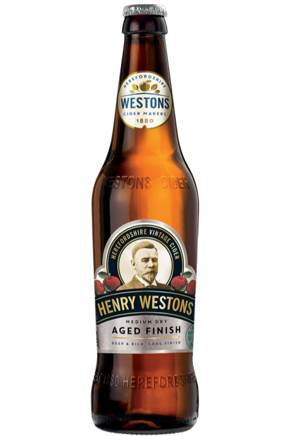 Henry Westons Aged Finish Cider - Cheers Wine Merchants