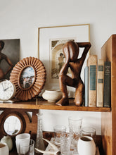 Load image into Gallery viewer, 70s Wood Sculpture