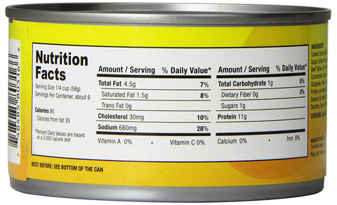 Argentina Corned Beef (Long Shreds) YELLOW - 12 OZ