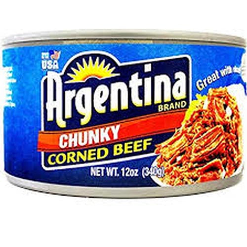 Argentina Brand Chunky Corned Beef - 12 OZ