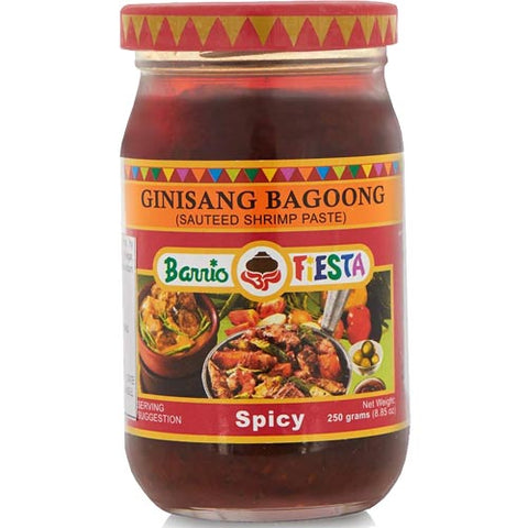 Barrio Fiesta - Ginisang Bagoong Sauteed Shrimp Paste - Spicy - 8.8 OZ