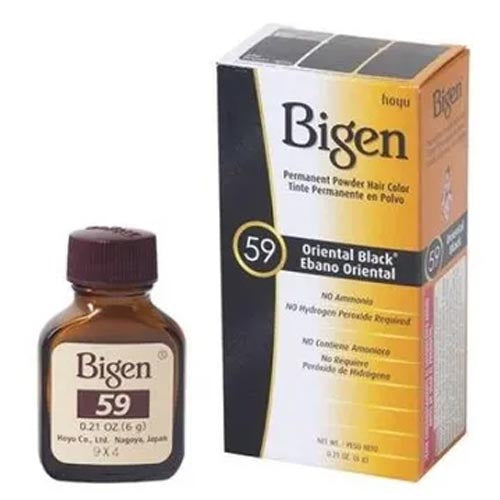 Bigen - Oriental Black - Permanent Powder Hair Color