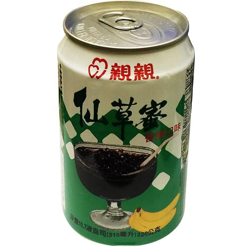 Chin Chin - Banana Flavour - Grass Jelly Drink - 320 G