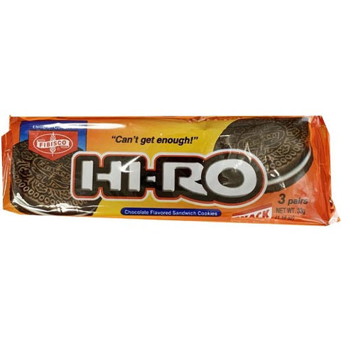 Fibisco - Hi-Ro Chocholate Flavored Sandwich Cookies - 33 G