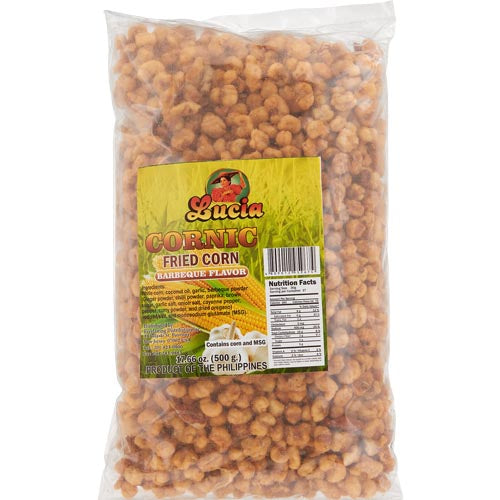 Lucia - Cornic - Fried Corn - Barbeque Flavor - Bag - 500 G