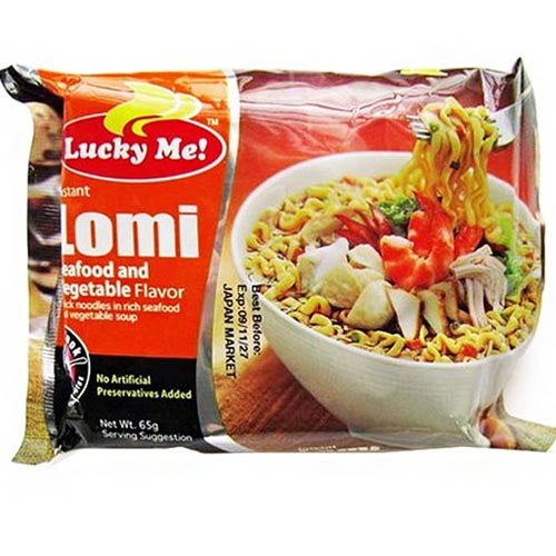 Lucky Me - Instant Lomi Pouch - 65 G