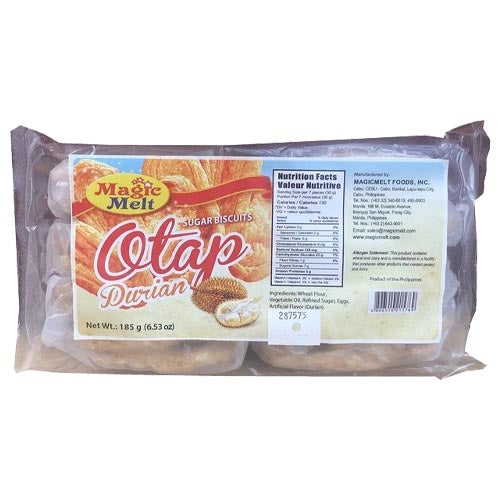 Magic Melt - Otap - Durian - Sugar Biscuits - 185 G