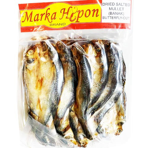 Marka Hipon - Dried Salted Mullet (Banak) Butterfly-Cut - 8 OZ