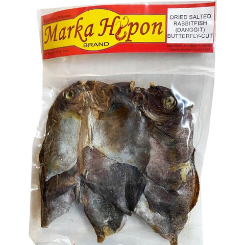 Marka Hipon - Dried Salted Rabbitfish (Danggit) - Butterfly Cut - 4 OZ