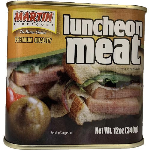 Martin Purefoods - Luncheon Meat Premium Quality - 12 OZ