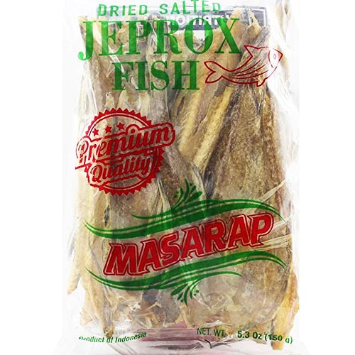 Masarap - Dried Salted Jeprox Fish (Premium Quality) - 150 G