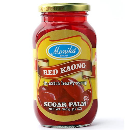 Monika Brand - Red Kaong in Extra Heavy Syrup - Sugar Palm
