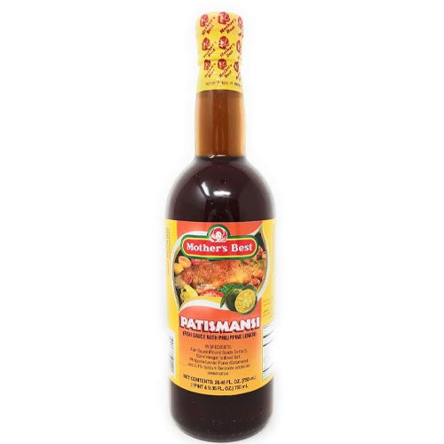 Mother's Best - Patismansi -Fish Sauce with Philippine Lemon - 750 ML