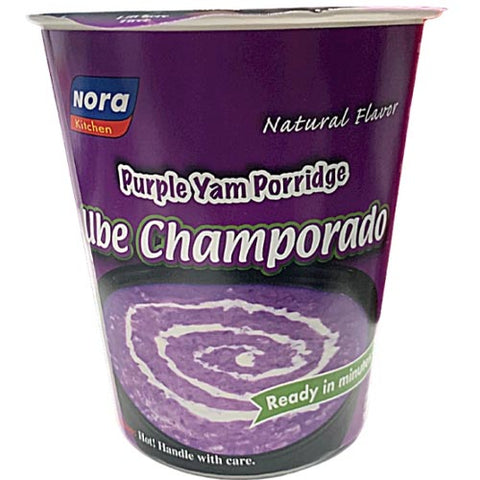 Nora - Purple Yam Porridge - UBE Champorado -2.68 OZ