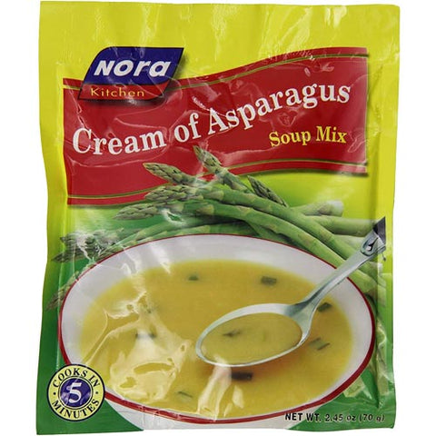 Nora - Cream of Asparagus Soup Mix -70 G