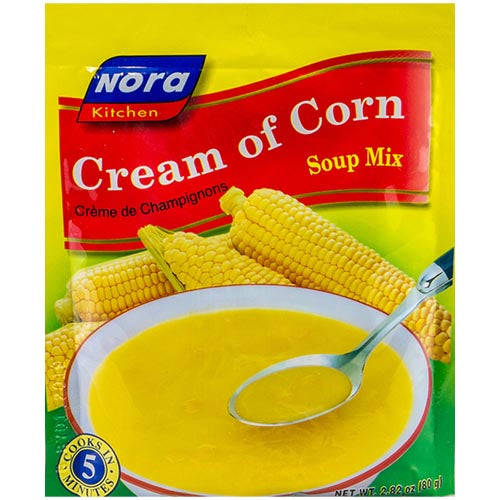 Nora - Cream of Corn Soup Mix - 80 G