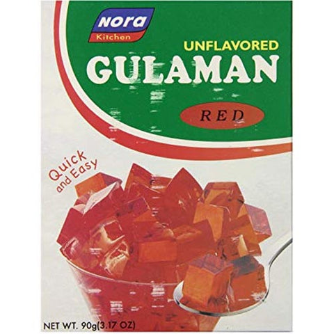 Nora - Gulaman Red - 90 G
