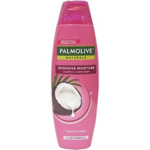 Palmolive Naturals - Shampoo and Conditioner - Intensive Moisture - Coconut Cream (PINK) - 180 ML
