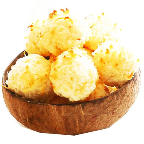 Kagat Bakery - Coconut Macaroon - 4 Pieces - 10 OZ