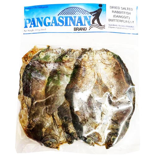 Pangasinan Brand - Dried Salted Rabbitfish (Danggit) Butterfly Cut - 4 OZ
