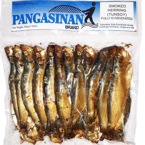 Pangasinan Brand - Smoked Herring (Tunsoy) - Fully Eviscerated - 7.05 OZ