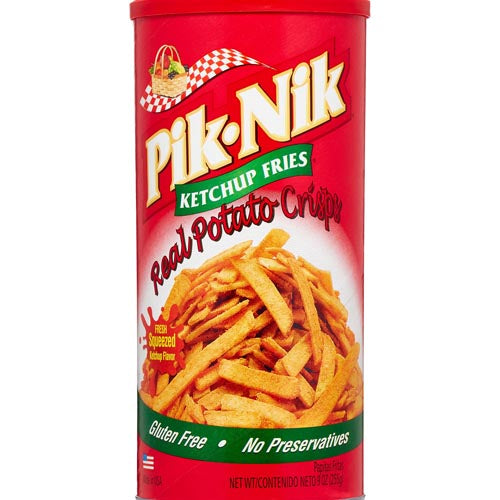 Pik-Nik Ketchup Flavor Fries (BIG) - 9 OZ