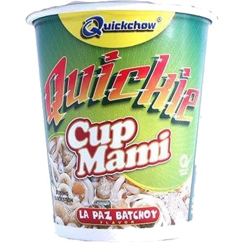 Quick Chow - Quickie - Cup Mami - La Paz Batchoy - 50 G