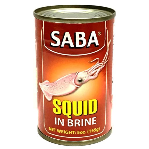 Saba - Squid in Brine - 155 G