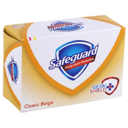 Safeguard - Classic Beige - Family Germ Protection - Soap Bar 130g