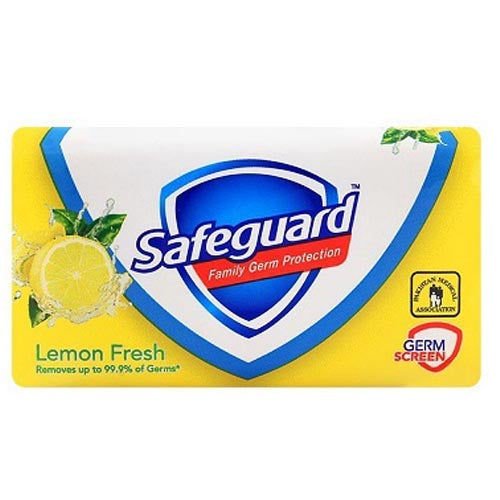 Safeguard - Lemon Fresh - Family Germ Protection - Soap Bar 130g