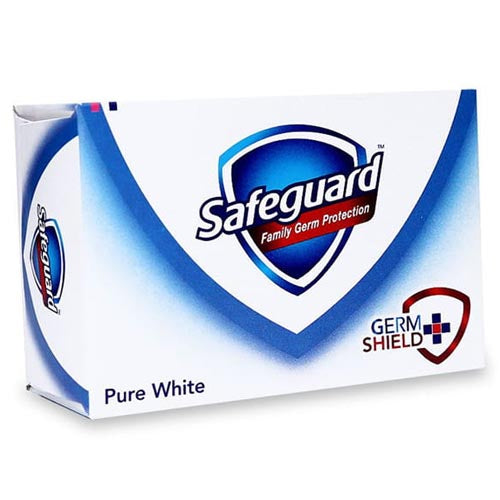 Safeguard - Pure White- Family Germ Protection - Soap Bar (White) - 175 G