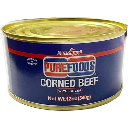 San Miguel Purefoods - Corned Beef with Juices - 12 OZ