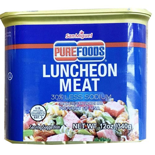 San Miguel Purefoods - Luncheon Meat - 30% Less Sodium - 12 OZ