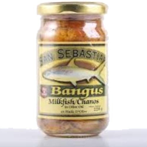 San Sebastian - Bangus in Olive Oil - Milkfish - Hot and Spicy- 230 G