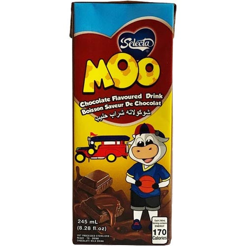 Selecta - Moo - Chocolate Flavoured Drink -245 ML