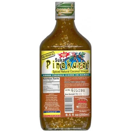 Suka Pinakurat - Spiced Natural Coconut Vinegar