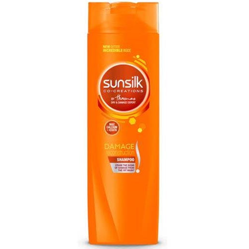 Sunsilk - Shampoo - Co-Creations- Max Calcium + Keratin - Damage Reconstruction (ORANGE) - 180 ML