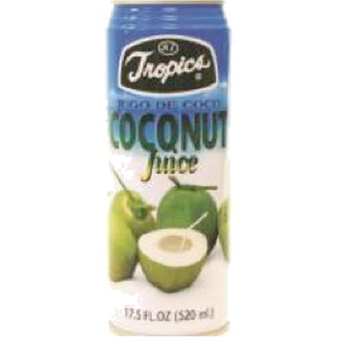 Tropics - Coconut Juice (Alum) - 16 OZ