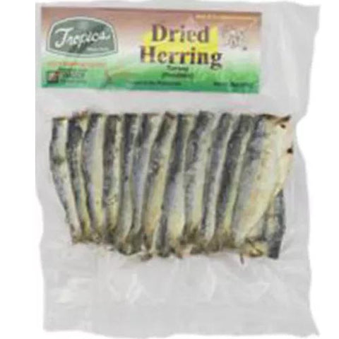 Tropics - Dried Herring (Tunsoy) w/ Head Eviscerated - 6 OZ