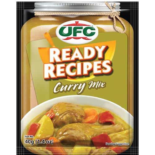 UFC - Curry Ready Recipes - 40 G