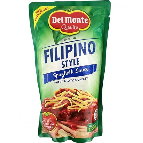 Del Monte Quality - Filipino Style Spaghetti Sauce Sweet, Meaty, Cheesy - 1 KG Doypack