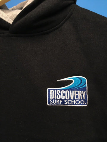 Discovery children's hoody - Black/Grey