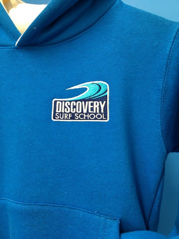 Discovery children's hoody - Electric blue/White