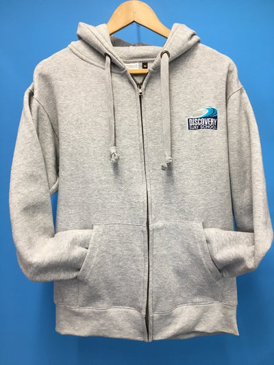 Discovery adult zip hoody - Grey